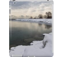 Translucent Winter - Small Cove Snowy Morning iPad Case/Skin
