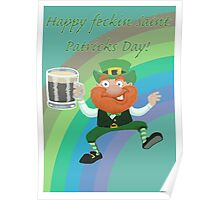 Paddys Day T Shirt Poster