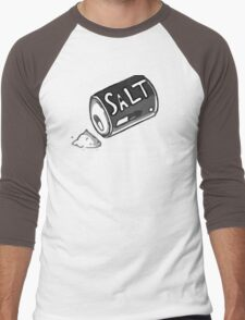 PJSalt V2 (white text) Men's Baseball ¾ T-Shirt