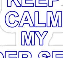 Keep Calm My Spidersense Is Tingiling Sticker