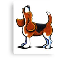 Tricolor Beagle Bay Canvas Print