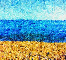 sea sky sand by KrisLeov