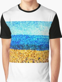 sea sky sand Graphic T-Shirt
