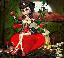 Candy Apple Love Art Prints by xgdesignsnyc