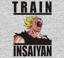 Train Insaiyan Rage Vegeta by BadrHoussni