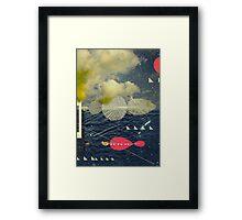 Mind-ship Framed Print