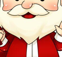 Santa Claus case Sticker