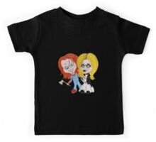 Horror Movie Dolls Caricature Kids Tee