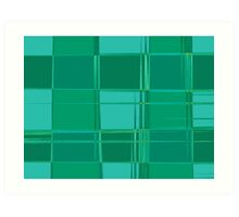 Hipster Plaid Two Art Print