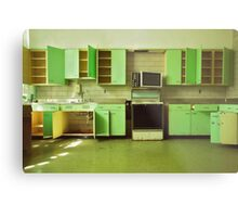 The Green Kitchen Metal Print