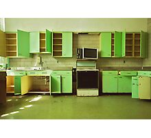 The Green Kitchen Photographic Print