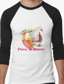 Praise the Karceus Men's Baseball ¾ T-Shirt