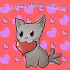 Valentines Pets - Kitty by OliverDemers