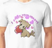 Valentines Pets - Puppy Unisex T-Shirt