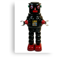 Mechanical Robby Toy Canvas Print