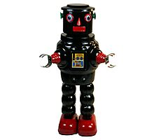 Mechanical Robby Toy Photographic Print