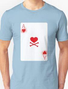 Ace of Heart Poker Card T-Shirt
