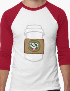 Happy Coffee Men's Baseball ¾ T-Shirt