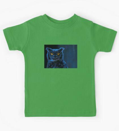 Moonlight Owl Kids Tee