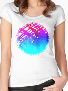 Performing color Women's Fitted Scoop T-Shirt