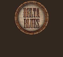 Wonderful Delta Blues Wood & Rust Unisex T-Shirt