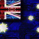 circuit board australia (flag) by sebmcnulty
