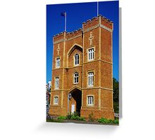 The Barracks Arch, Perth Greeting Card