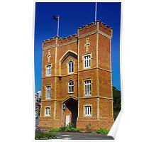 The Barracks Arch, Perth Poster