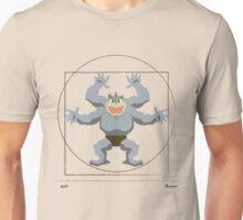 Leonardo Da Vinci's Machamp Unisex T-Shirt