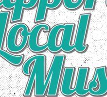 Support Local Music - Georgia Sticker