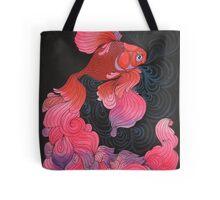 Pink Oranda  Tote Bag
