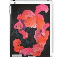 Orange oranda iPad Case/Skin
