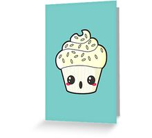 Spooky Cupcake - Ghost Greeting Card