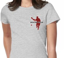 Beacon Hills High - Lacrosse (chest) Womens Fitted T-Shirt