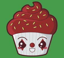 Spooky Cupcake - Killer Clown Kids Clothes
