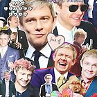 martin freeman collage by cocosuspenders