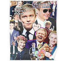 martin freeman collage Poster
