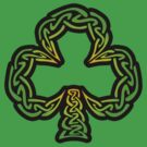St. Patricks Day Celtic Shamrock  by MrP1ckles