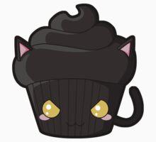 Spooky Cupcake - Black Cat by pai-thagoras