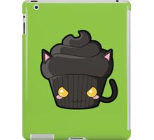Spooky Cupcake - Black Cat iPad Case/Skin