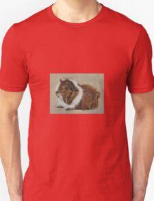 """Lucky"" Gorgeous Guinea Pig Unisex T-Shirt"