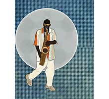 Saxophone Musician Photographic Print