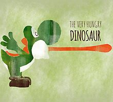Very Hungry Dinosaur by thehookshot