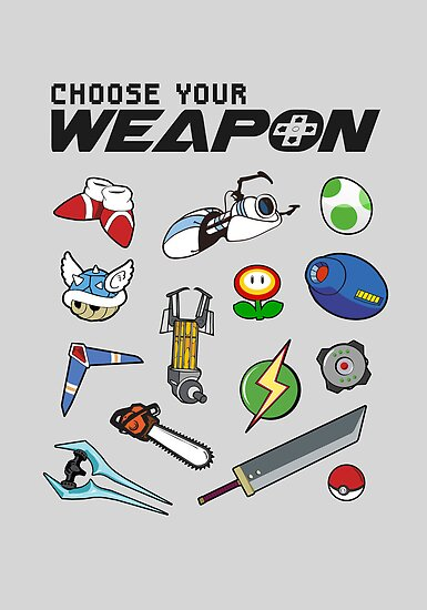 Choose Your Weapon by thehookshot