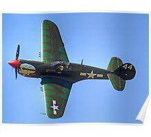 Curtiss P-40M Kittyhawk - Shoreham 2013 Poster