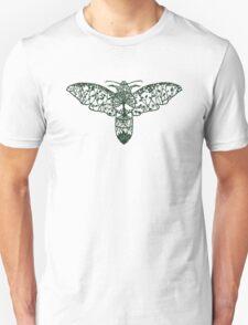 Hawk Moth Paper-Cut  T-Shirt