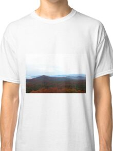 Blue Ridge Mountian Love Classic T-Shirt