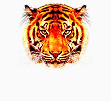 camouflage tiger on yellow Unisex T-Shirt