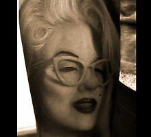 Marilyn Monroe Tattoo by NickCacc