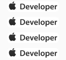  iOS Developer ×4 (Small) by weji